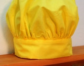 Child's Chef Hat in Yellow