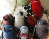 Custom Upcycled Monster Friends Made from Your Favorite Sweater