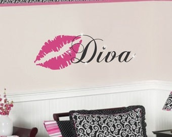Teen Girl Vinyl Wall Decal Bedroom Decor