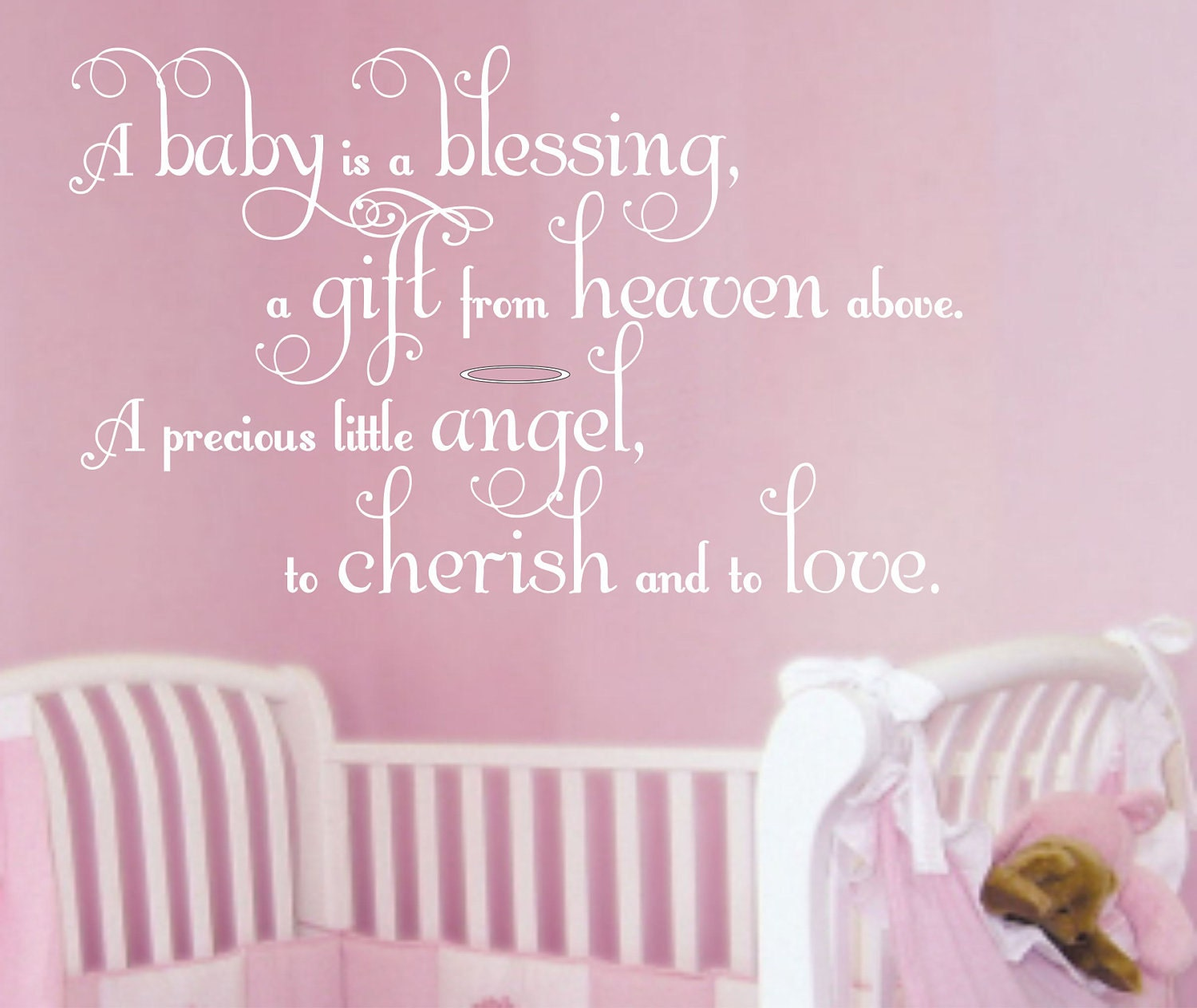 wall decal baby nursery saying wall quote boy decals