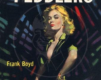 The Flesh Peddlers - 10x17 Giclée Canvas Print