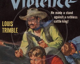 Valley of Violence - 10x15 Giclée Canvas Print