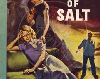 The Price of Salt - 10x17 Giclée Canvas Print of Vintage Pulp Paperback