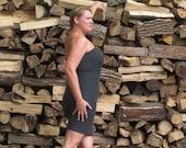 Hemp Strapless Dress with Xtra Sass (Hemp / Organic Cotton)