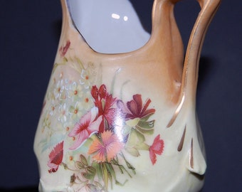 antique art nouveau creamer pitcher