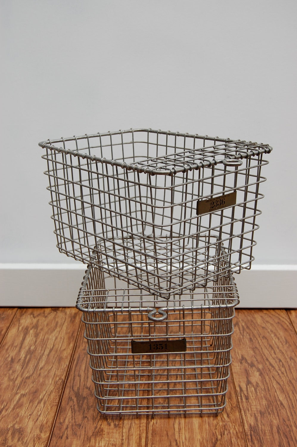 lovely old school gym locker baskets minus the ugly by sugarscout. Black Bedroom Furniture Sets. Home Design Ideas