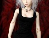 Super Gem Model Doll Black Singlet For SD BJD