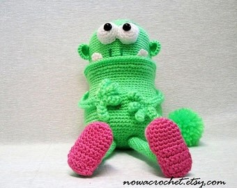 House monster - amigurumi PDF ebook crochet pattern