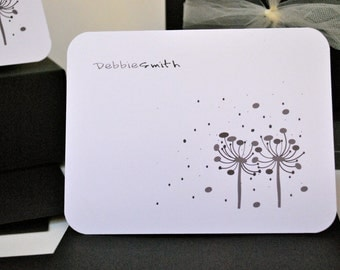 Personalized Cards, Classy Personalized Notecards