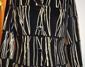 Leslie Fay Blazer/ Patterned Blazer/ Size Medium