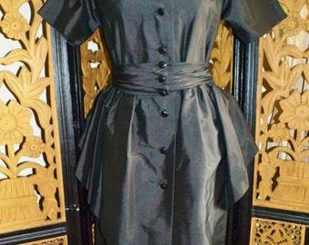 Vintage Peplum Casi Dress