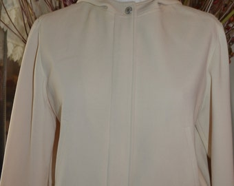 Cropped Ralph Lauren Jacket with Hood / Size 8