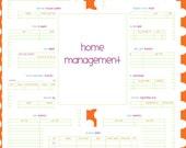 Home Management Set - EDITABLE / FILLABLE PDF - 16 pages