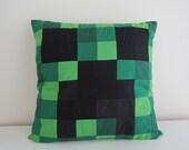 Minecraft Creeper Cushion Cover