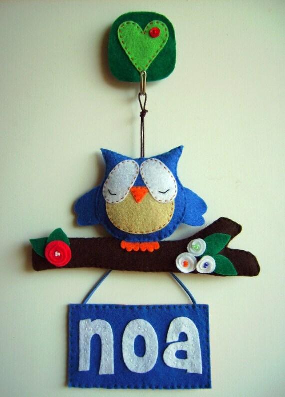 Items similar to door or wall hanging personalized name - Carteles para puertas habitaciones ...