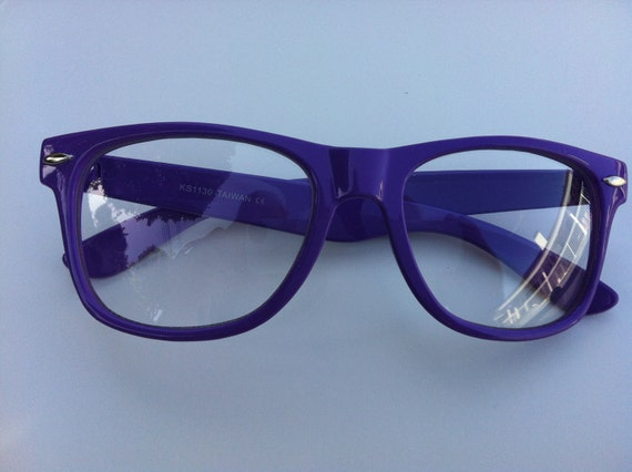 RAVE Purple light show glasses