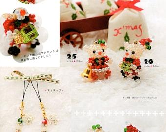 Santa Claus and Mrs Claus Mice Mascots Beading Pattern PDF