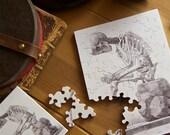 """Jigsaw Puzzle, Wooden, 48 pieces -""""Elementi di anatomia"""""""