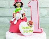 Korean baby costume birthday cake topper Decoration Gift Keepsake