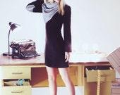 Black Dress with a hint of Paris