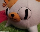 Cake the Cat in Morning Star Mode - Adventure Time fan art plush (RESERVED FOR RACHAEL)