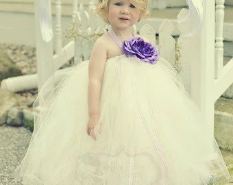 Ivory Tutu dress, flower girl dress, tutu dress, flower girl tutu, ivory flower girl, flower girl, ivory dress, ivory tutu, wedding, tutu