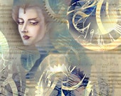 Steampunk Empress Print Variant 8.5x11
