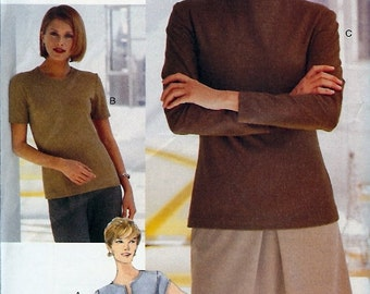 Very Easy Vogue Collectibles UNCUT Pattern 9904 - Misses/Misses Petite Top - 18-22