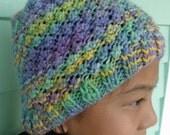 "Super Duper SALE, wool textured ""popcorn"" hat.  Was 36. now ONLY 15."