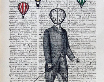 JACOB  giclee print poster mixed media painting illustration drawing