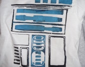 Childrens R2D2 graphic T shirt Girls sizes S or L