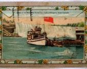 Vintage Postcard and Souvenir Folder 1928 - Niagara Falls