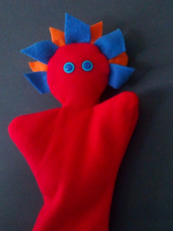 Anything Hand Puppet, Red