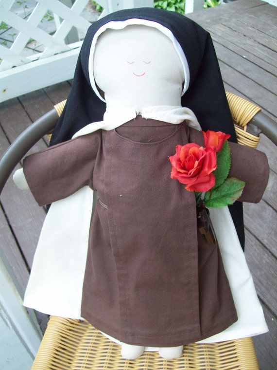 St. Therese of Lisieux Cloth Doll