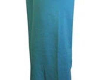 Teal DRAWSTRING Yoga or Casual Pant / 35.00 / FREE Usa Ship 1-3 Days / Yoga Travel or Office / Made in USA / Fabric Holds Shape and Color
