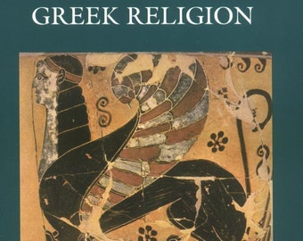 Greek Mythology Book - Prolegomena to the Study of Greek Religion - Softcover 1991 - Ancient Sacred Texts