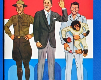 Ronald Reagan Paper Dolls by Tom Tierney