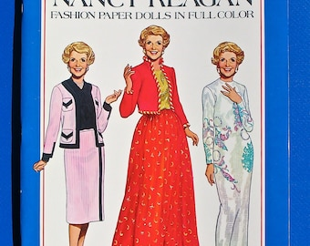 Nancy Reagan Paper Dolls by Tom Tierney