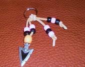 "Buffy the Vampire Slayer Arrow Head ""Chumash"" Indian Inspired Keychain"