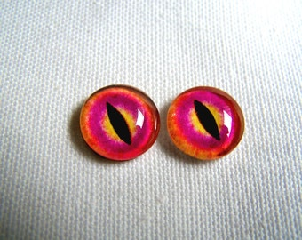 Glass eyes 12mm eyes jewelry glass