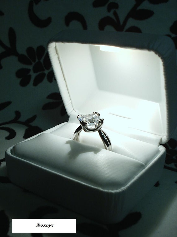 ... Ring presentation Box double wedding bands keepsake gift box