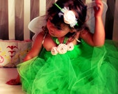 TINKERBELL INSPIRED FAIRY Costume: Size nb - 2t
