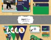 Dinosaur Birthday Party Printable Party Decor