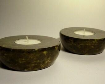 Connemara Marble Tea Light Set