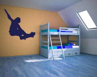 Skateboard Decor Skateboard Decal Skateboarder Skate Boarding Children S Wall Art Bedroom