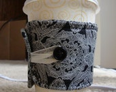Pretty Coffee Cozy - Delicate Design - Lovely fabric