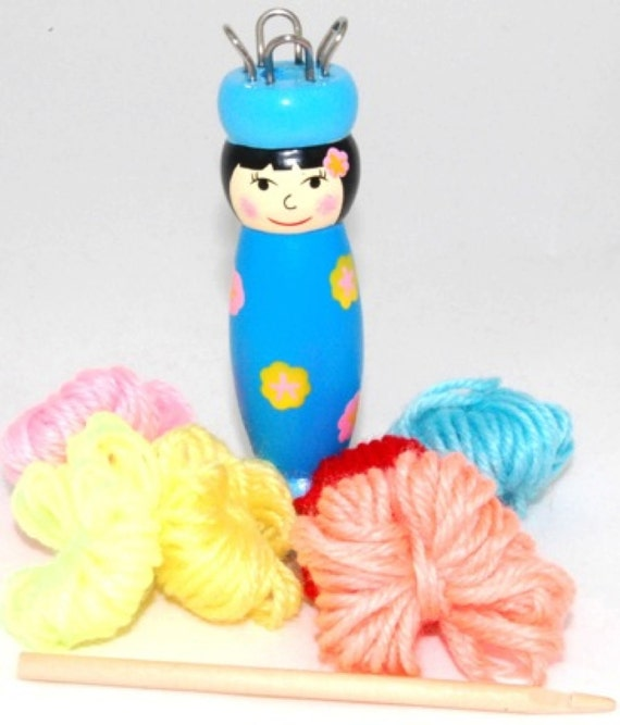 French Knitting Doll : French knitting doll by madebylvly on etsy