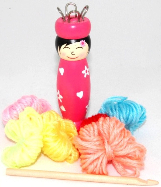 French Knitting Doll : French knitting doll
