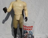 NEW LOWER PRICE Battlestar Galactica Cylon Warrior Glass and Colonial Warrior Action Figure