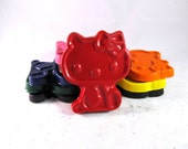 Hello Kitty Crayons - Set of 9 - CrayonMavens